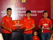 Triệu fan MU ở Việt Nam đón niềm vui lớn từ  Quỷ đỏ