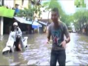 Video Clip Cười - Clip: MƯU HÈN KẾ BẨN mùa mưa ngập
