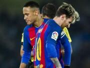 """Bóng đá - Barca: Vì Quả bóng Vàng, Neymar bắt đầu """"ghét"""" Messi"""