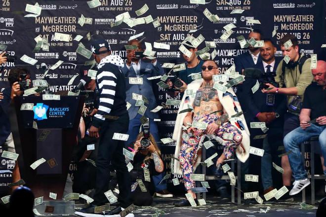 McGregor - Mayweather: Gánh xiếc và những trò hề tỷ đô - 1