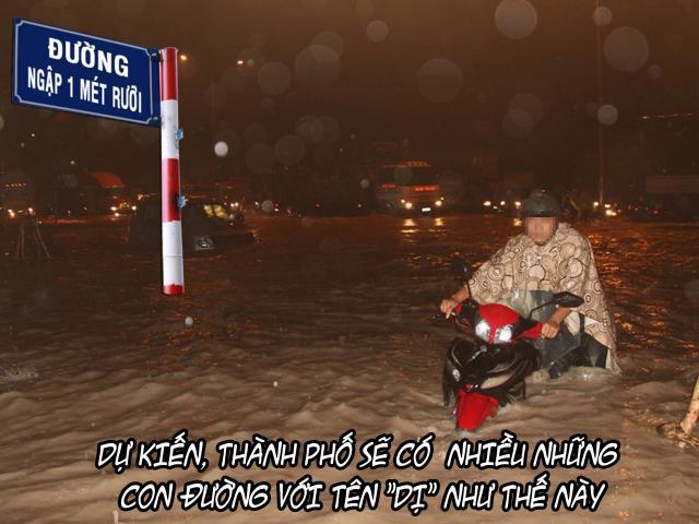 Tin vịt: Hà Nội có phố mới sau bão số 2