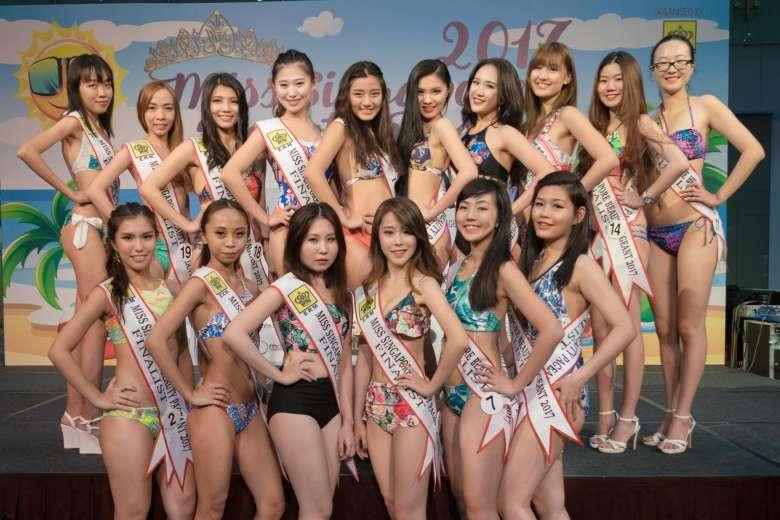 Bất lực khi tìm thí sinh đẹp trong cuộc thi Hoa hậu Singapore - 1