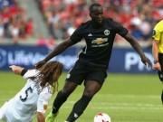 """Bóng đá - Lukaku xử lý đẳng cấp, lừa 3 cầu thủ, """"thông nòng"""" tại MU"""