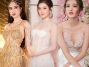 Váy trong suốt của Huyền My chỉ xếp thứ 4 top mặc đẹp