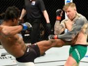 Thể thao - Cú knock-out siêu lạ trên sàn đấu UFC