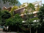 Biệt thự xanh  tuyệt đẹp ở Hà Nội xuất hiện ấn tượng trên báo Mỹ