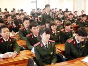 Giáo dục - du học - Cách đăng ký xét tuyển vào học viện an ninh nhân dân hệ dân sự