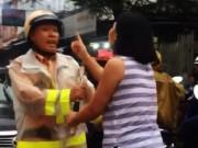 Tin tức trong ngày - Trung úy CSGT bị người phụ nữ lăng mạ nói gì?