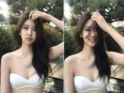 Bạn trẻ - Cuộc sống - Sự thật phía sau nhan sắc mĩ miều của hot girl bikini