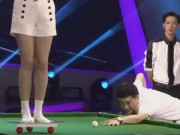 """Thể thao - Bi-a: """"Thần cơ"""" Trung Quốc phá thế siêu đẳng, mỹ nhân ngã chổng vó"""
