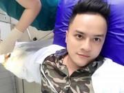 Ca sĩ Cao Thái Sơn nhập viện phẫu thuật tay, fan lo lắng