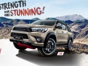 """Tin tức ô tô - Toyota Hilux mạnh mẽ với gói """"độ"""" TRD"""