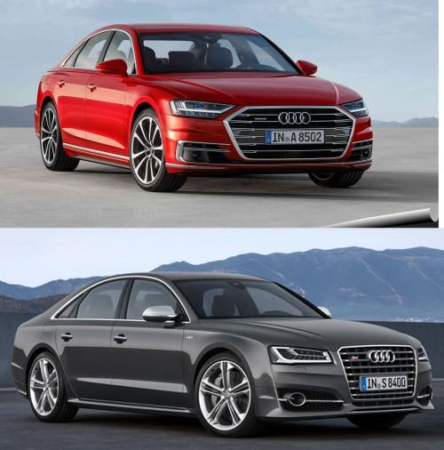 Audi A8 2018 so với A8 2014 có điểm gì khác biệt? - 1