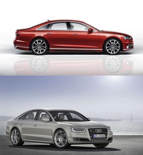 Audi A8 2018 so với A8 2014 có điểm gì khác biệt? - 2