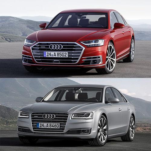 Audi A8 2018 so với A8 2014 có điểm gì khác biệt? - 3