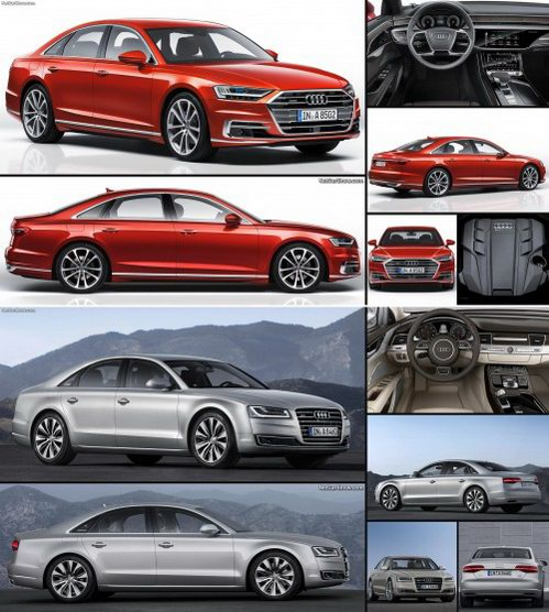 Audi A8 2018 so với A8 2014 có điểm gì khác biệt? - 5