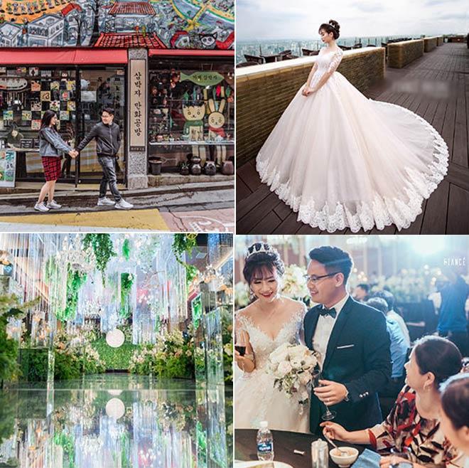 Đám cưới 10 tỷ của cặp đôi Hà thành sau 8 năm yêu - 1
