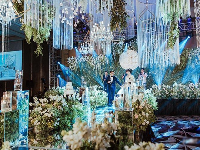 Đám cưới 10 tỷ của cặp đôi Hà thành sau 8 năm yêu - 3