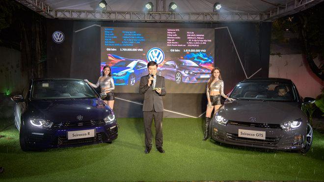Volkswagen Scirocco 2017 giá từ 1,619 tỷ đồng ở Việt Nam