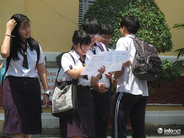 Đại học đầu tiên công bố điểm chuẩn - 1