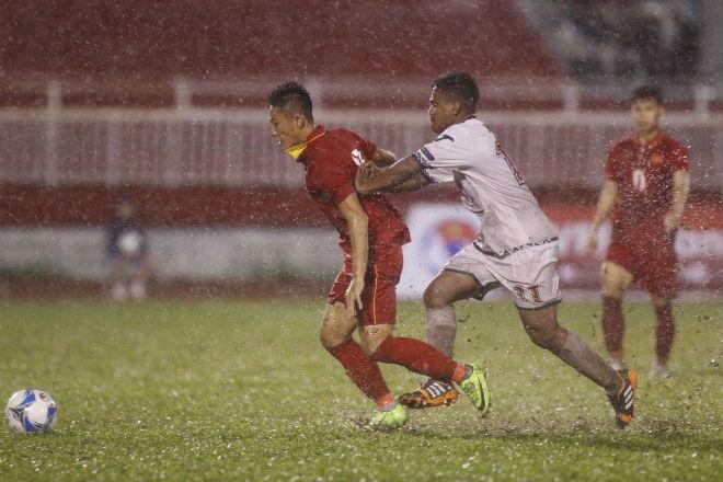 U23 Đông Timor quây trọng tài, tố bị U23 Việt Nam đánh nguội - 1