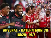 Arsenal - Bayern Munich: Lacazette so tài James