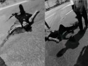 An ninh Xã hội - Truy sát kinh hoàng ở HN, nam thanh niên bị đâm gục giữa đường