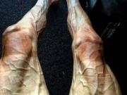 """Thể thao - Hình ảnh gây choáng: Đua xe đạp số 1 thế giới, đôi chân """"biến dạng"""""""