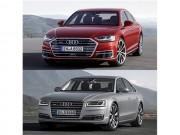 Tin tức ô tô - Audi A8 2018 so với A8 2014 có điểm gì khác biệt?