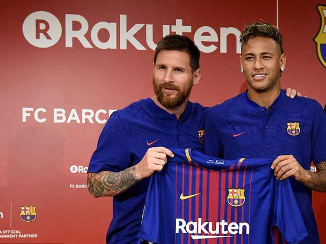 Messi giá 265 triệu bảng, kém xa Ronaldo: MU, Man City, PSG mua được - 1