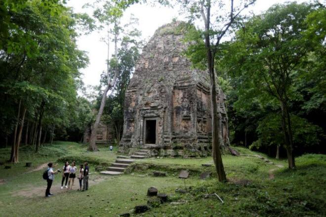 Du khách đổ xô tới di sản thế giới mới ở Campuchia - 2