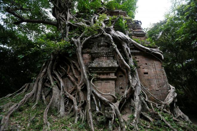 Du khách đổ xô tới di sản thế giới mới ở Campuchia - 8