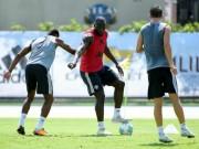 """Bóng đá - MU đấu Man City: Mourinho bắt Lukaku giải """"toán khó"""""""