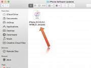 Công nghệ thông tin - Tập tin cập nhật iPhone được iTunes tải về đâu trên máy tính?