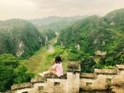 """Check-in  """" Vạn Lý Trường Thành """"  đẹp như mơ ở Ninh Bình"""