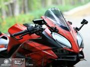 """Choáng trước Honda CBR250rr độ phong cách  """" người nhện """""""