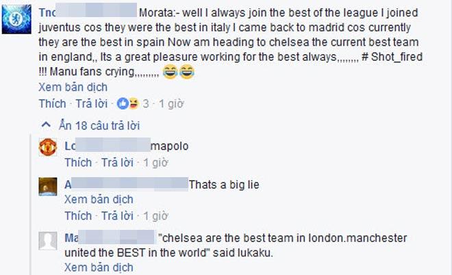 Morata đến Chelsea: 650 triệu fan MU chia rẽ, oán Real trách Mourinho - 3