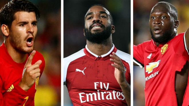 Vua phá lưới Ngoại hạng Anh 2017/18: Lukaku đua Morata, Lacazette lép vế - 1