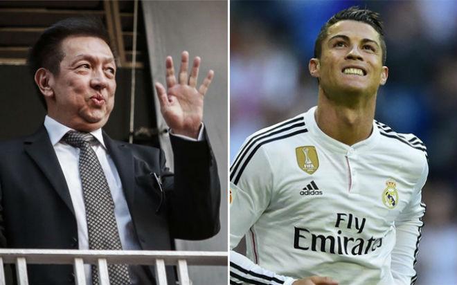 """Ronaldo """"khoe"""" phi cơ riêng triệu đô, tới Singapore kết thân tỷ phú - 1"""