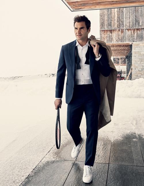 8 lần Roger Federer mặc đẹp át cả siêu sao! - 1