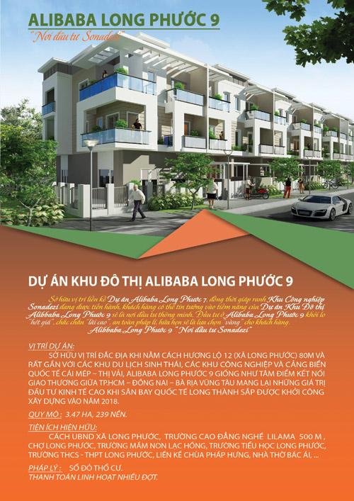 Sinh lời nhanh với dự án Alibaba Long Phước 9 - 1