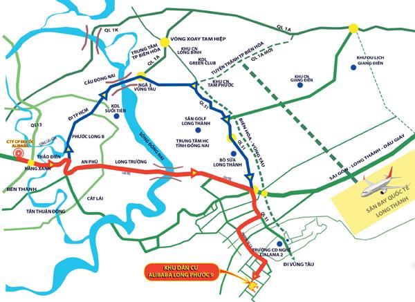 Sinh lời nhanh với dự án Alibaba Long Phước 9 - 2