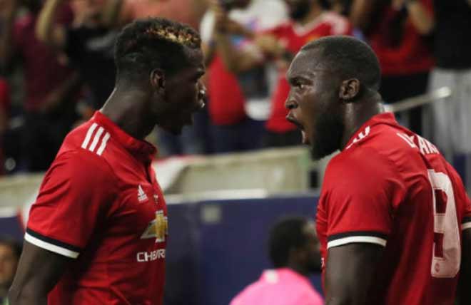 Pogba kiến tạo đỉnh cao, Lukaku ghi bàn đầu tiên derby Manchester - 1