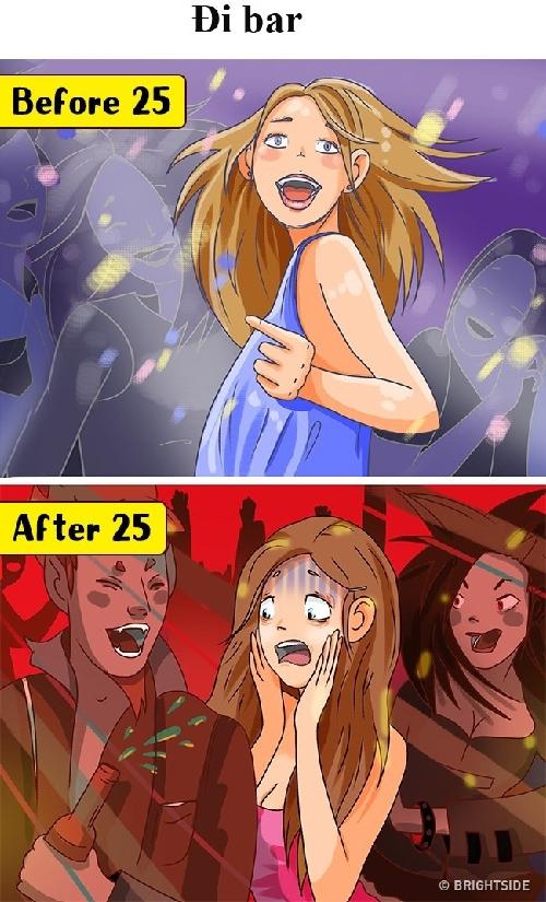 Con gái trước và sau 25 tuổi: Thay đổi kinh hoàng như thế nào - 1