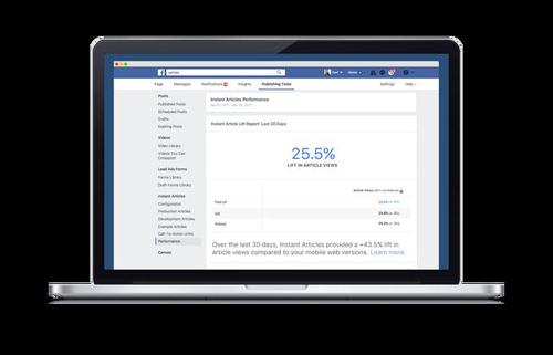 Facebook tung công cụ đánh giá bài viết Instant Articles - 2