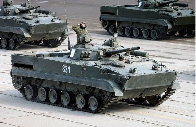 Lực lượng xe bọc thép từ trên trời đánh xuống của Nga - 1