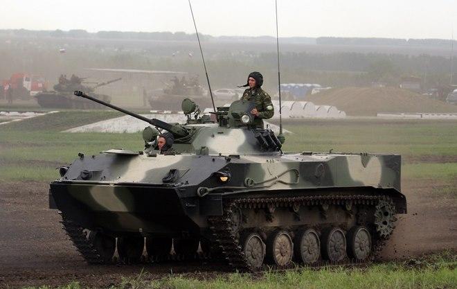 Lực lượng xe bọc thép từ trên trời đánh xuống của Nga - 3