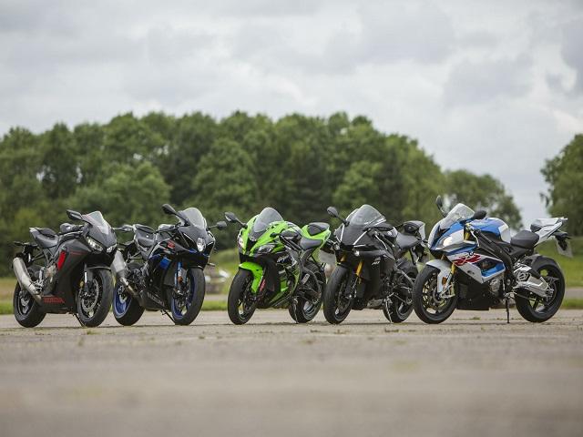 Những chiếc superbike mang động cơ 4 xi-lanh khủng nhất