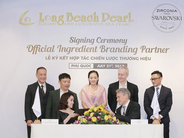 Trang sức ngọc trai Long Beach Pearl hợp tác với Tập đoàn đá quý lâu đời của Áo