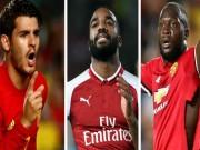 Vua phá lưới Ngoại hạng Anh 2017/18: Lukaku đua Morata, Lacazette lép vế